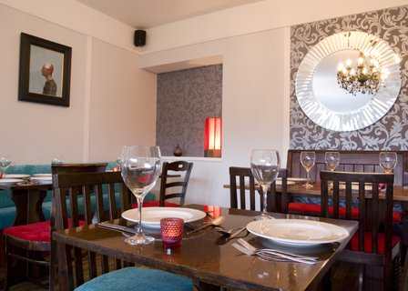 The dining room at The Elmfield