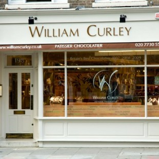 William Curley – new Pimlico shop