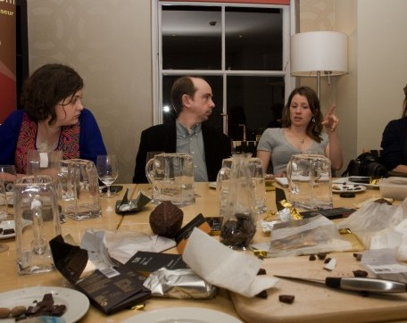 Chocolate carnage with Louise Thomas, Dom Ramsey and Jennifer Earle