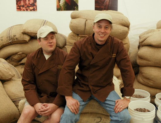 Clark Goble and Art Pollard in the early days back in 2007