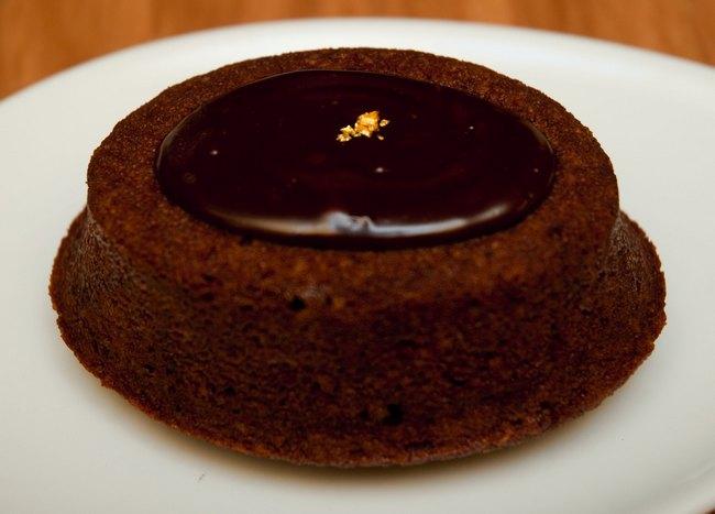 Yuzu ganache cake