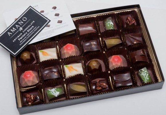 Amano 24 piece truffle and confection collection