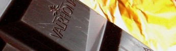 Valrhona's typical, high quality finish.