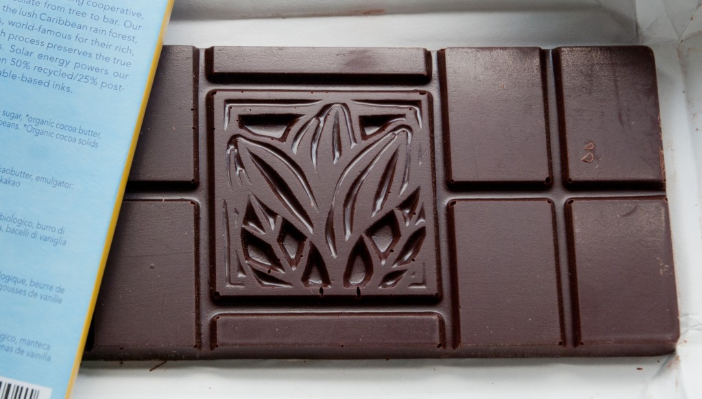 Grenada Chocolate 71% – unwrapped