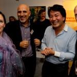 Monica Meschini, Ali Naqvi, Steve Chung and Enric Rovira