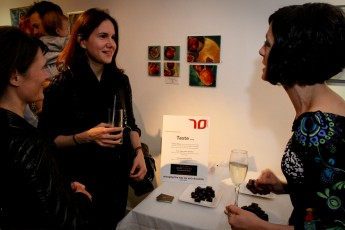 Ana Hernandez Piferrer (right) introducing the 2011 Pure Collection