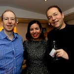 Martin Christy, Susana Cardenas Overstall and Massimo Ianni of Alrov Hotels