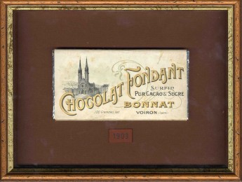 Bonnat's chocolate bar from 1903
