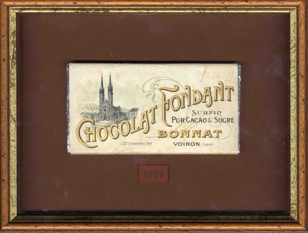 Bonnat's chocolate bar from 1903